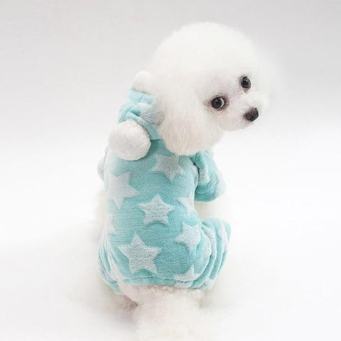 Fleece Jumpsuit Sweater for Small Dogs | PUP ADDICT