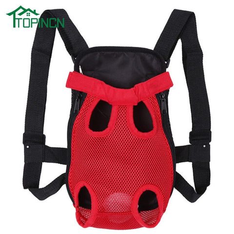 Front-Facing Dog Travel Carrier Backpack | PUP ADDICT