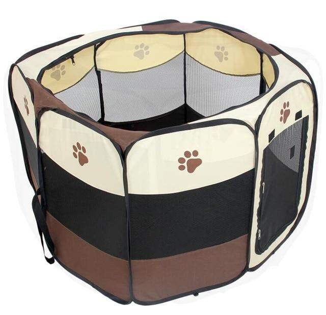 Portable Foldable Exercise Dog Playpen | PUP ADDICT