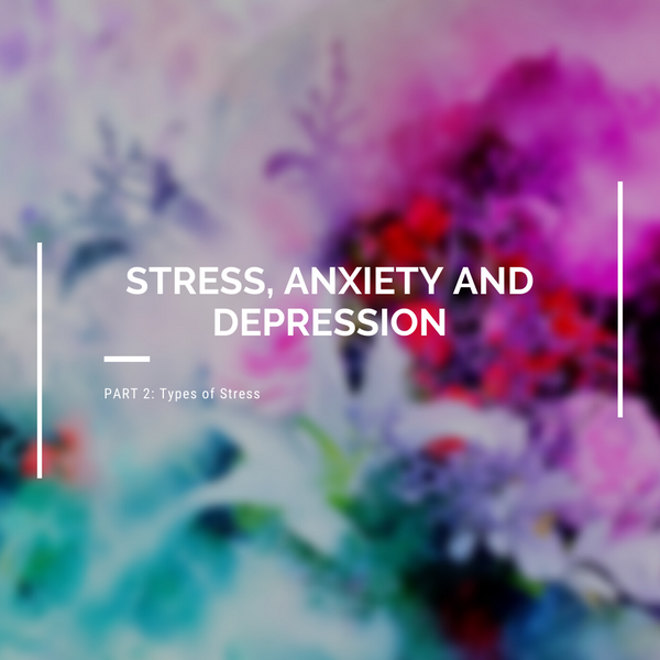 Stress, Anxiety and Depression: Part 2