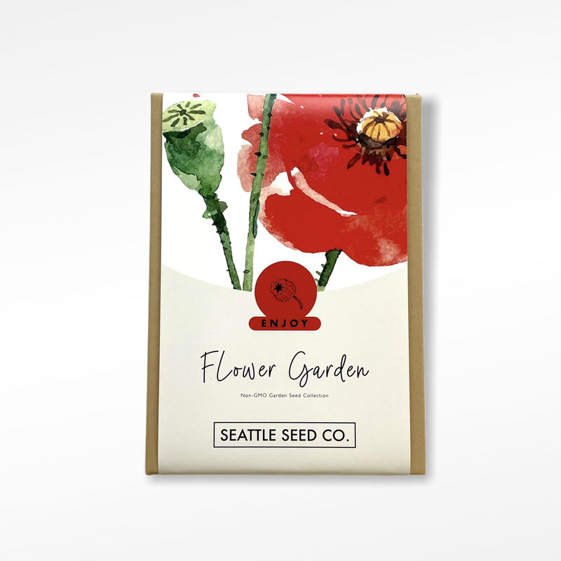 Flower Garden by Seattle Seed Co.