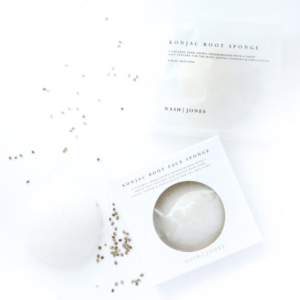 Konjac Face Sponge by Nash & Jones