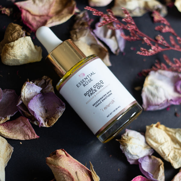 Rose Gold Face Oil by Essential Rose