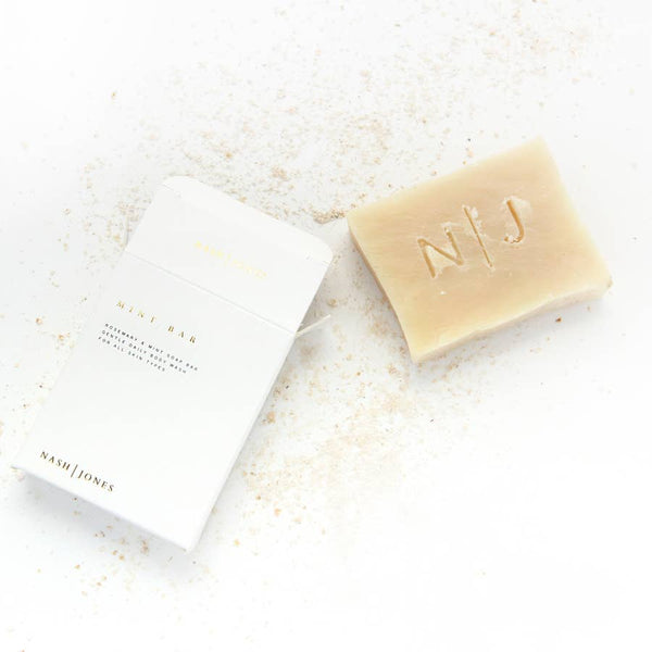 Mint Cleansing Bar by Nash and Jones