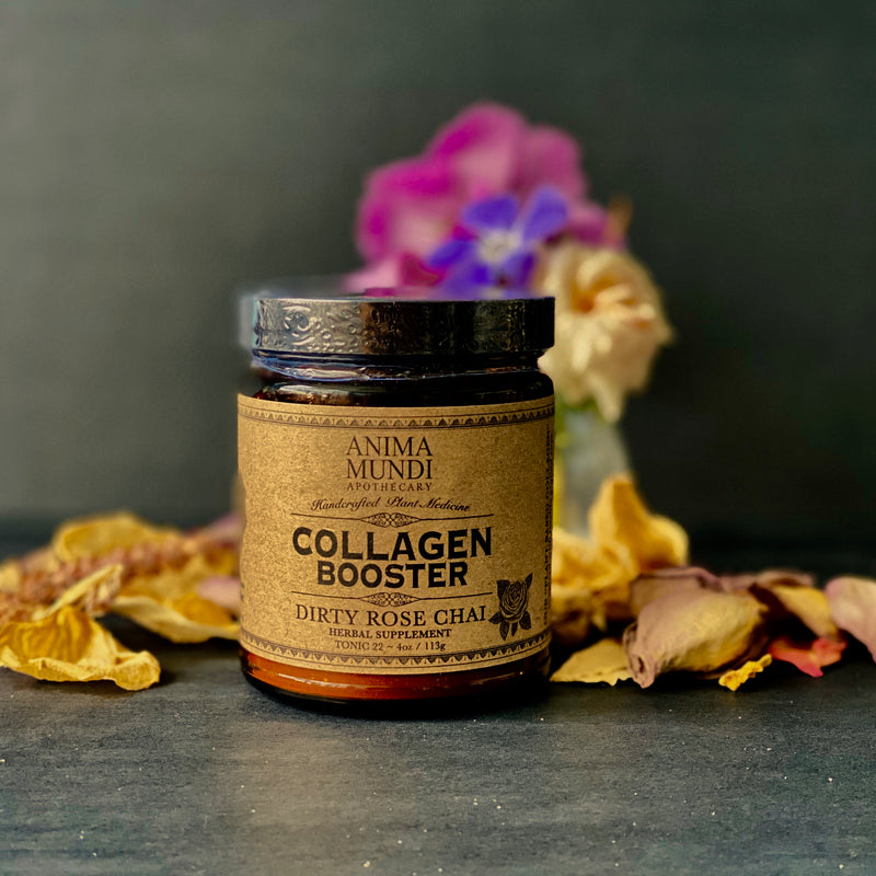 Collagen Booster Dirty Rose Chai by Anima Mundi Apothecary