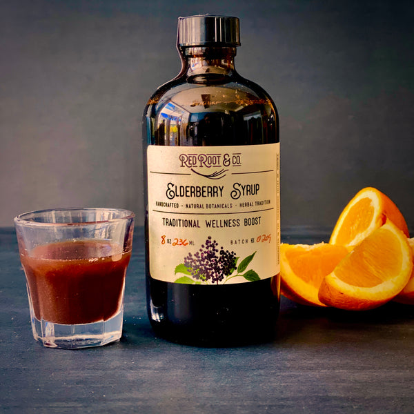 Elderberry Syrup by Red Root & Co.