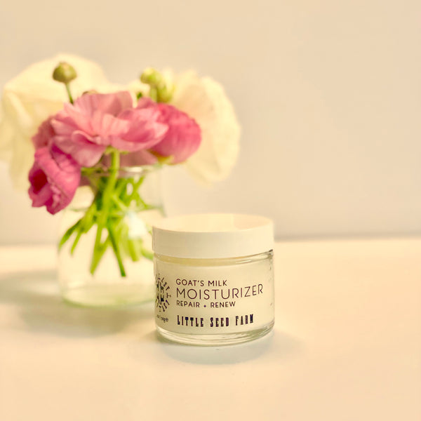 Goat's Milk Moisturizer by Little Seed Farm