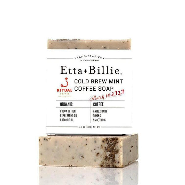 Cold Brew Mint Coffee Soap by Etta + Billie