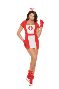 """Naughty Nurse"" 3 Piece Costume"