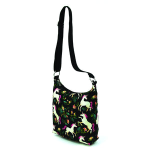 Unicorns in the Forest Messenger Bag