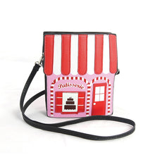 Pink Pastry House Crossbody Bag