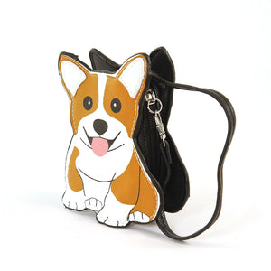 Corgi Dog Zippered Coin Purse