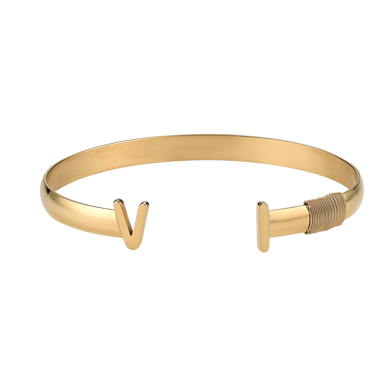 Ladies VI Bangle_Gold
