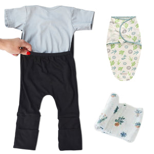 Caboosee Sleep Bundle- Cactus with Black