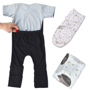 Caboosee Sleep Bundle- Sleepy Time Wrap