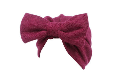 Wine Turban with Bow