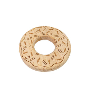 Beech Wood Donut Teether
