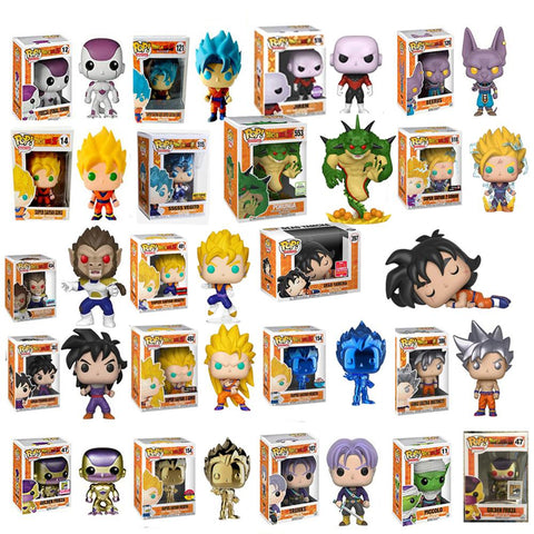 Funko Pop Dragon Ball Action Figures