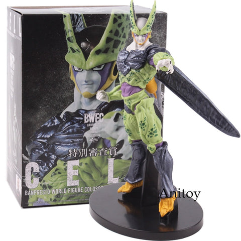 Dragon Ball Cell Action Figure from Ban Presto