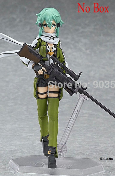Anime Sword Art Online Figma Kirito Asuna Figure PVC Action Figure Collection Model kids Toy
