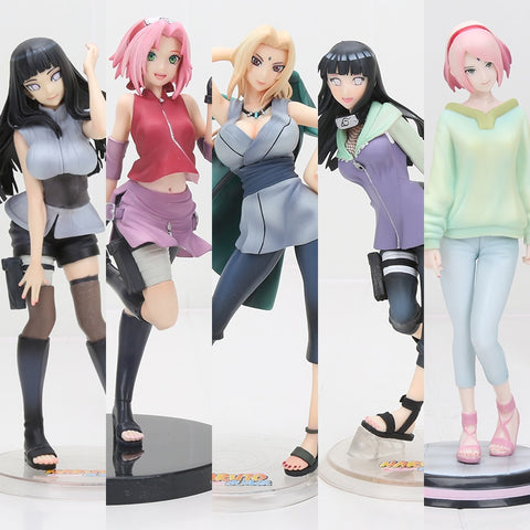Girls of Naruto Action Figures