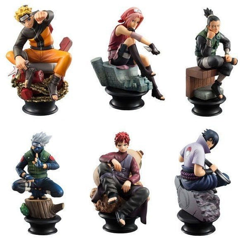 Naruto Chess Piece Action Figures