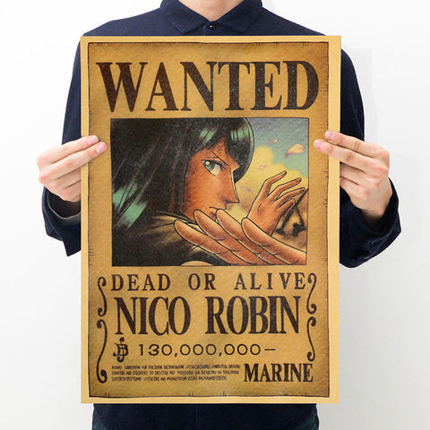 Nico Robin 2 One Piece Wanted Poster