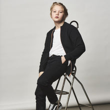 Load image into Gallery viewer, Kronstadt Kids Daniel Chino Pants Black