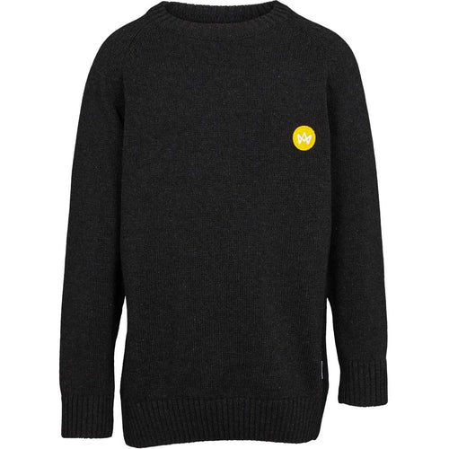 Kronstadt Kids Liam Crew Recycled Knits Charcoal