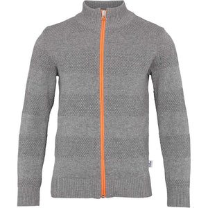 Kronstadt Kids Emil Knits Zip Black / Orange