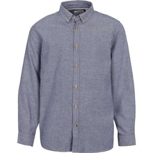 Load image into Gallery viewer, Kronstadt Kids Johan Diego Shirts L/S Light Navy