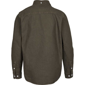 Kronstadt Kids Johan Oxford Washed Shirts L/S Army