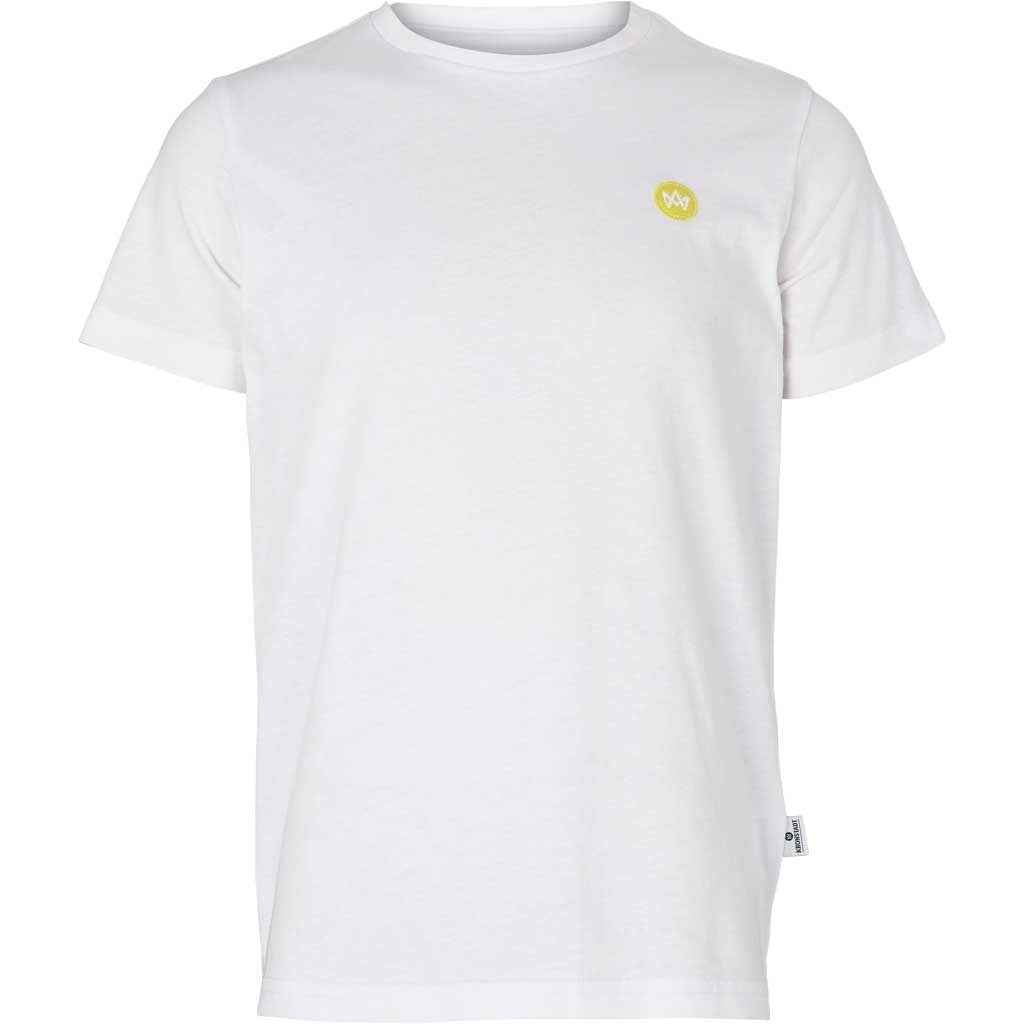 Kronstadt Kids Timmi Recycled Tee White