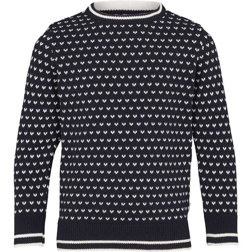 Kronstadt Kids Alfie Recycled Knits Navy/White