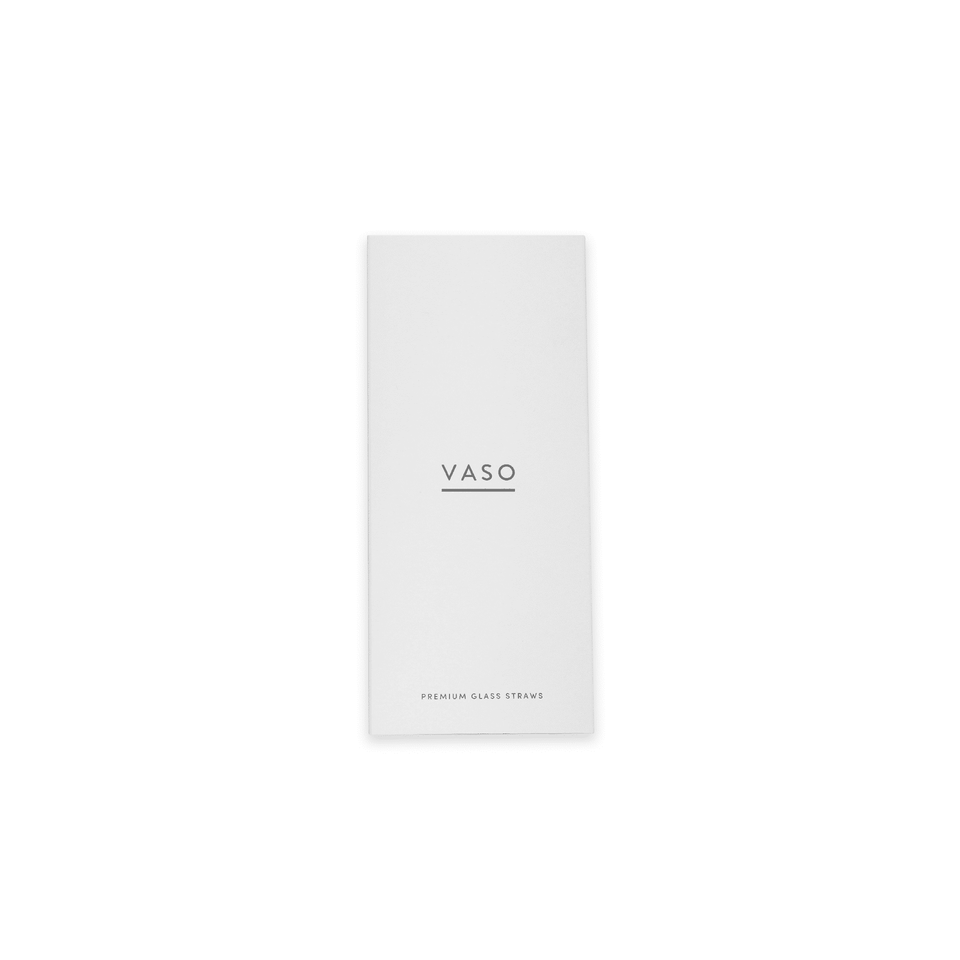 VASO Glass Straws Packaging Front