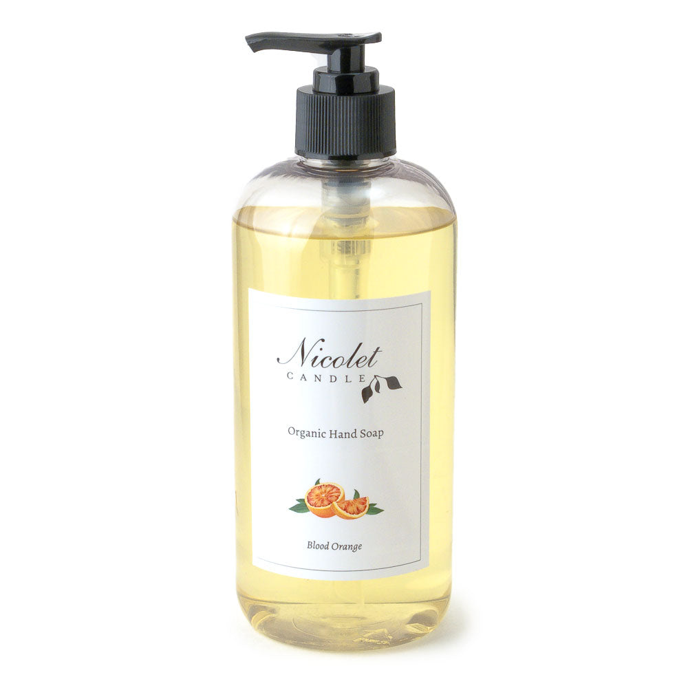 Organic Hand Soap - Blood Orange, 17oz