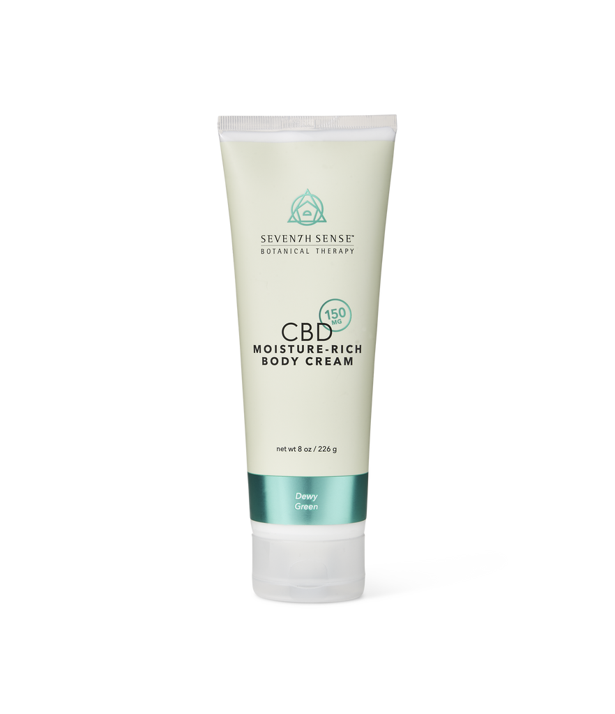 CBD Body Cream Dewy Green