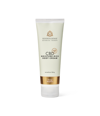 CBD Body Cream Orange Bergamot
