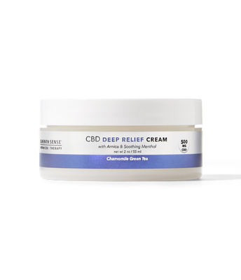 CBD Deep Relief Cream Chamomile Green Tea