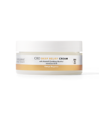 CBD Deep Relief Cream Orange Bergamot