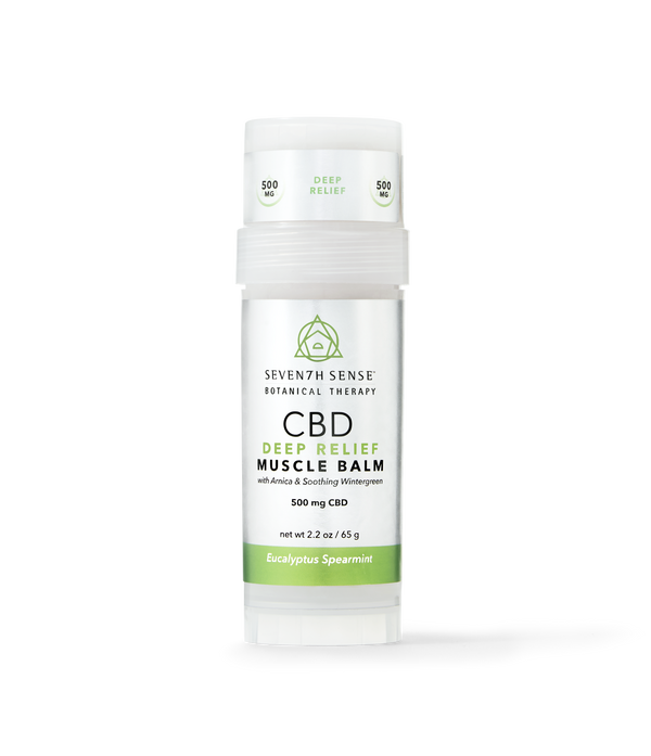 CBD Deep Relief Muscle Balm Eucalyptus Spearmint