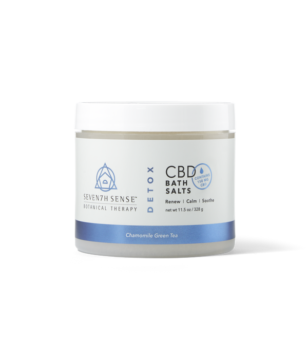 CBD Bath Salts Chamomile Green Tea