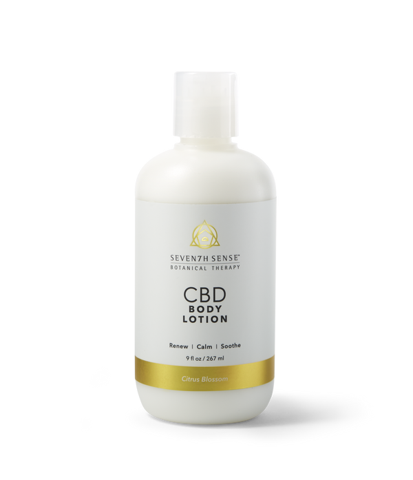 CBD Body Lotion Citrus Blossom