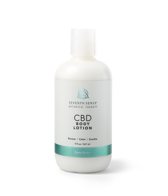 CBD Body Lotion Dewy Green