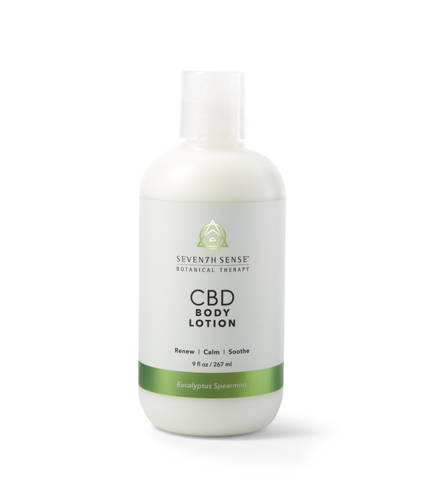 CBD Body Lotion Eucalyptus Spearmint