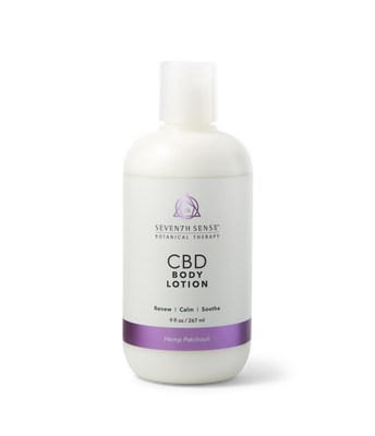CBD Body Lotion Hemp Patchouli