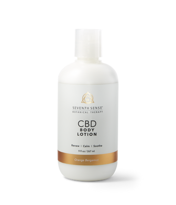 CBD Body Lotion Orange Bergamot