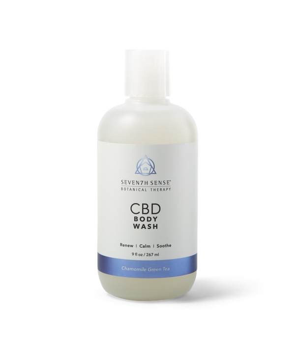 CBD Body Wash Chamomile Green Tea