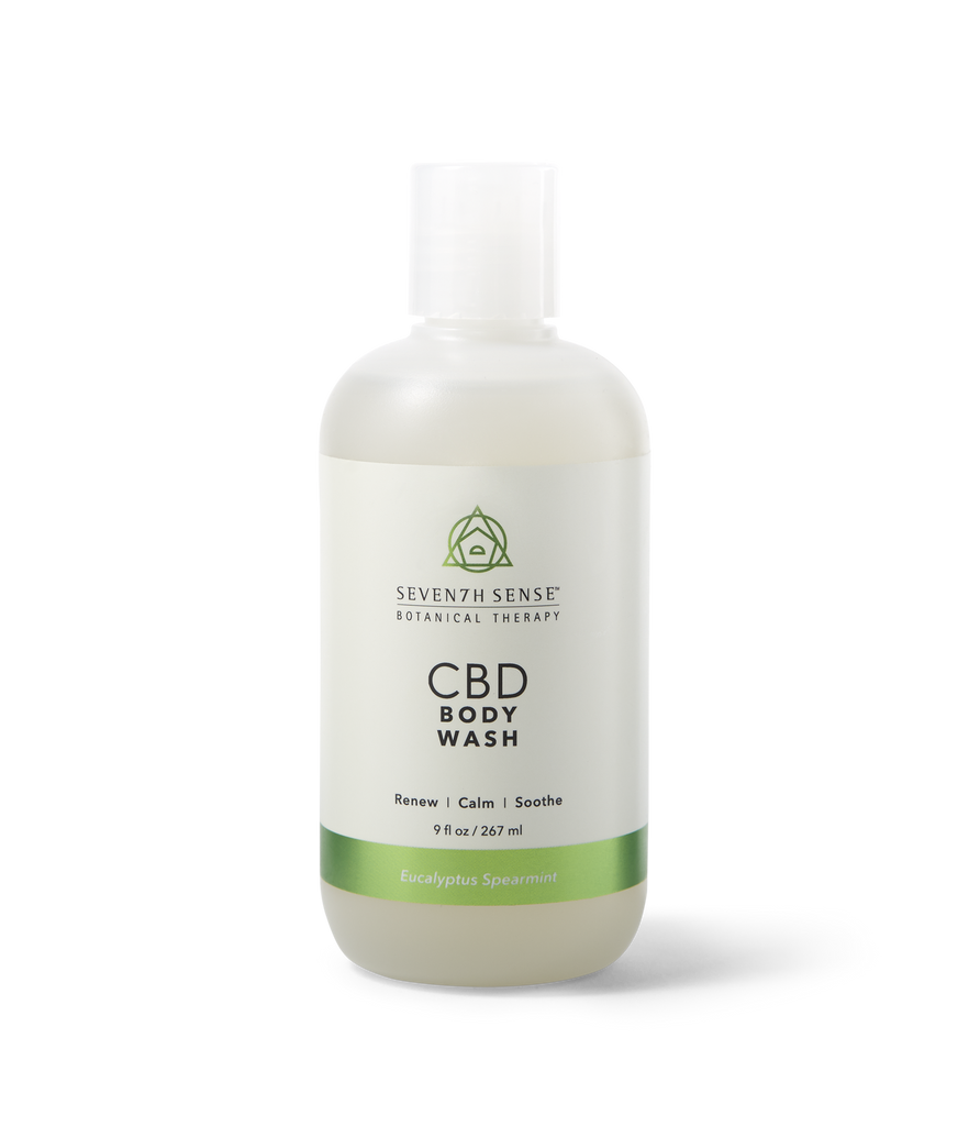 CBD Body Wash Eucalyptus Spearmint