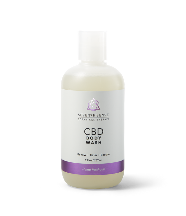 CBD Body Wash Hemp Patchouli